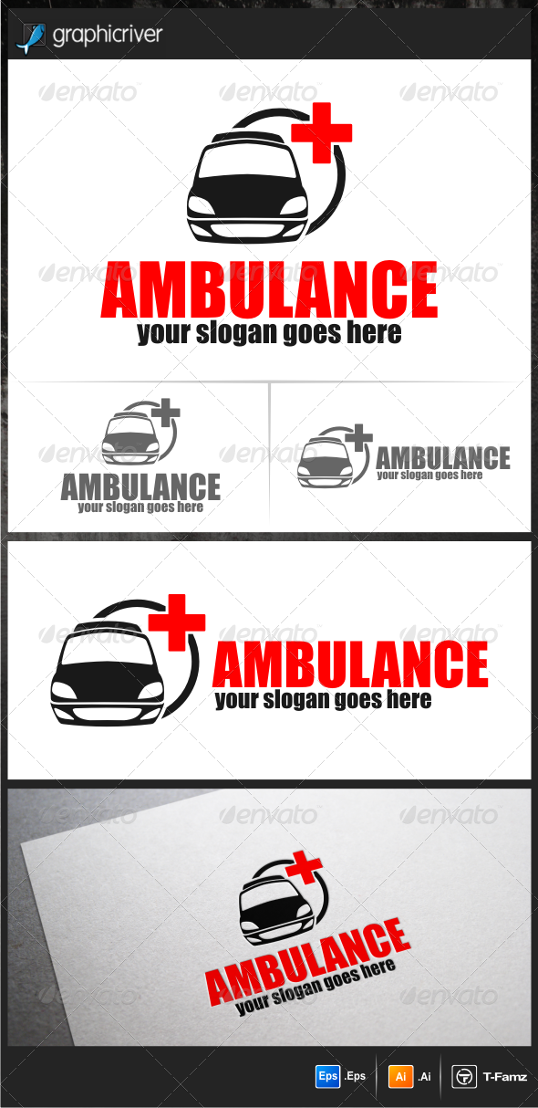 GraphicRiver Ambulance Logo Templates 5892291