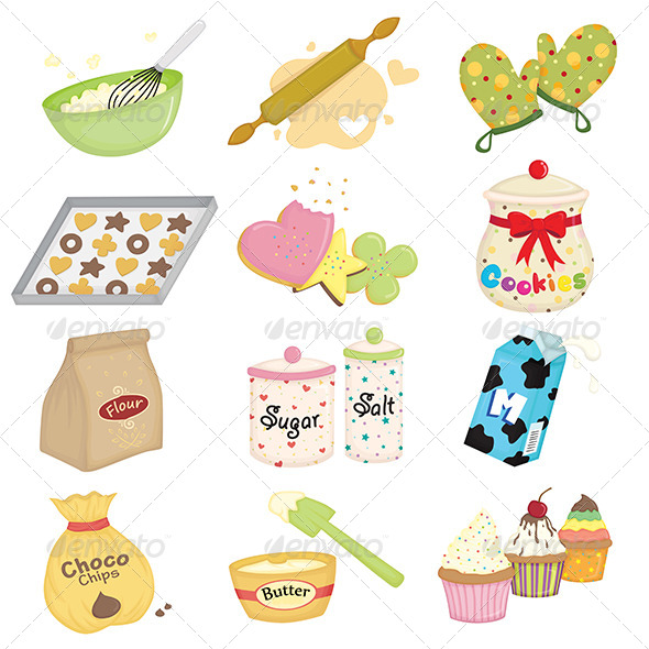 GraphicRiver Baking Icons 5892480