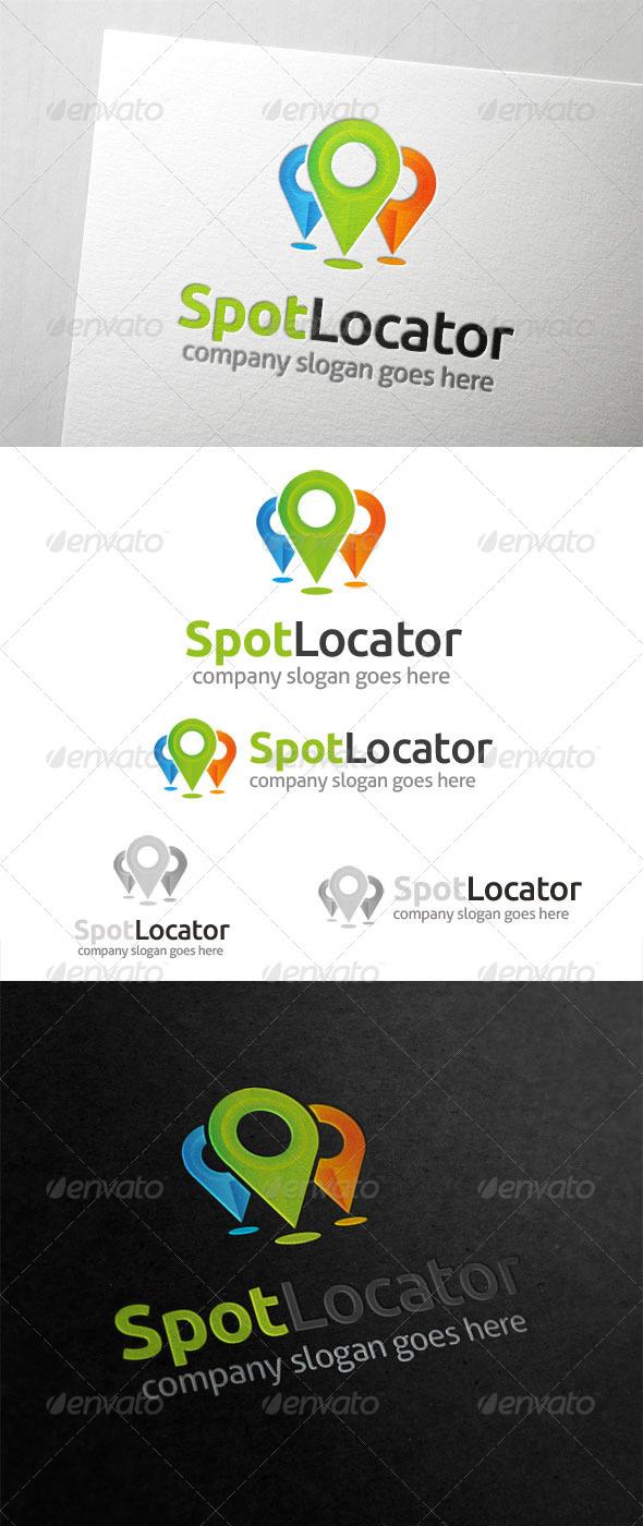 GraphicRiver Spot Locator Logo 5892847