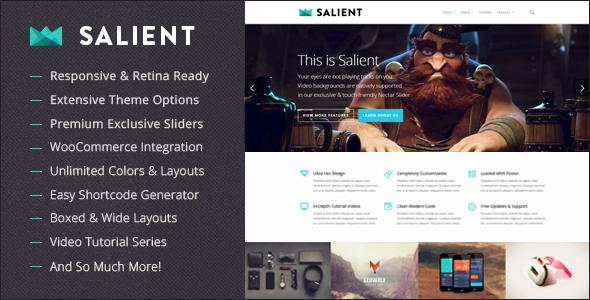 Salient v2.1.5 – ThemeForest Responsive Multi-Purpose WordPress Theme