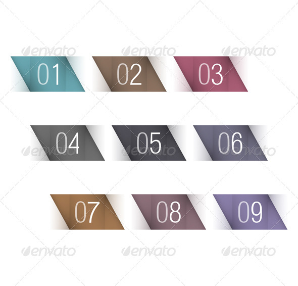 GraphicRiver Numbers 5893185