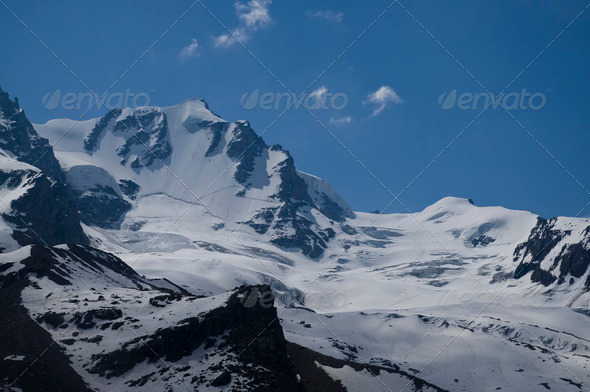 Gran Paradiso mountain - Stock Photo - Images