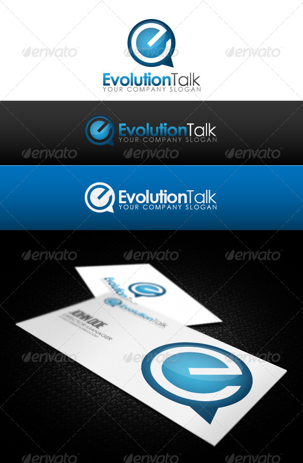 GraphicRiver Evolution Talk Logo 5893295