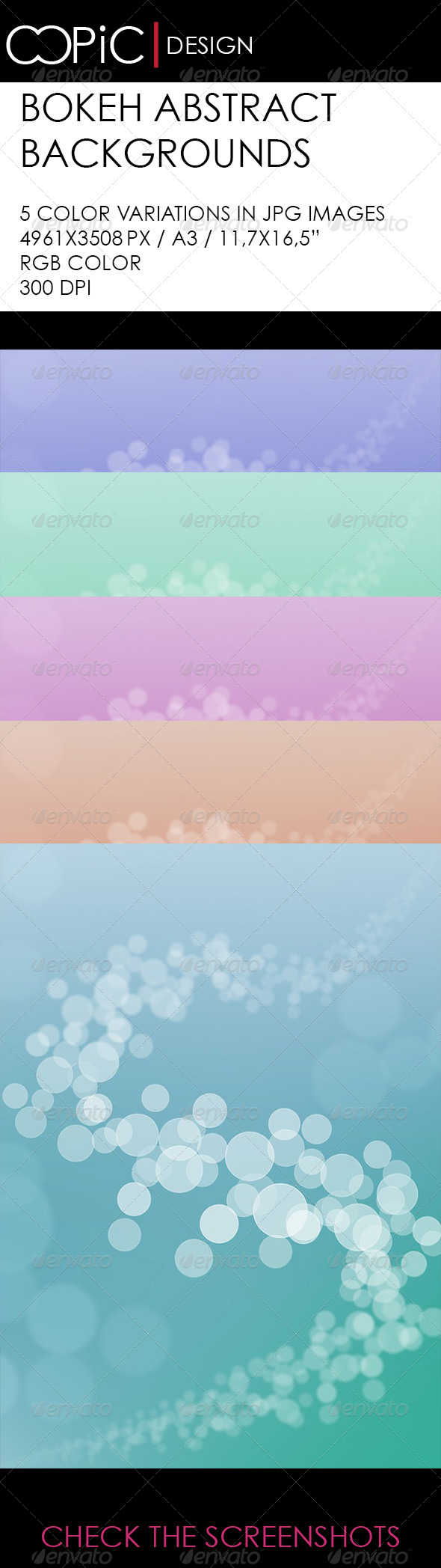 GraphicRiver Abstract Bokeh Backgrounds 5852194