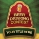 Beer Drinking Contest Flyer - GraphicRiver Item for Sale