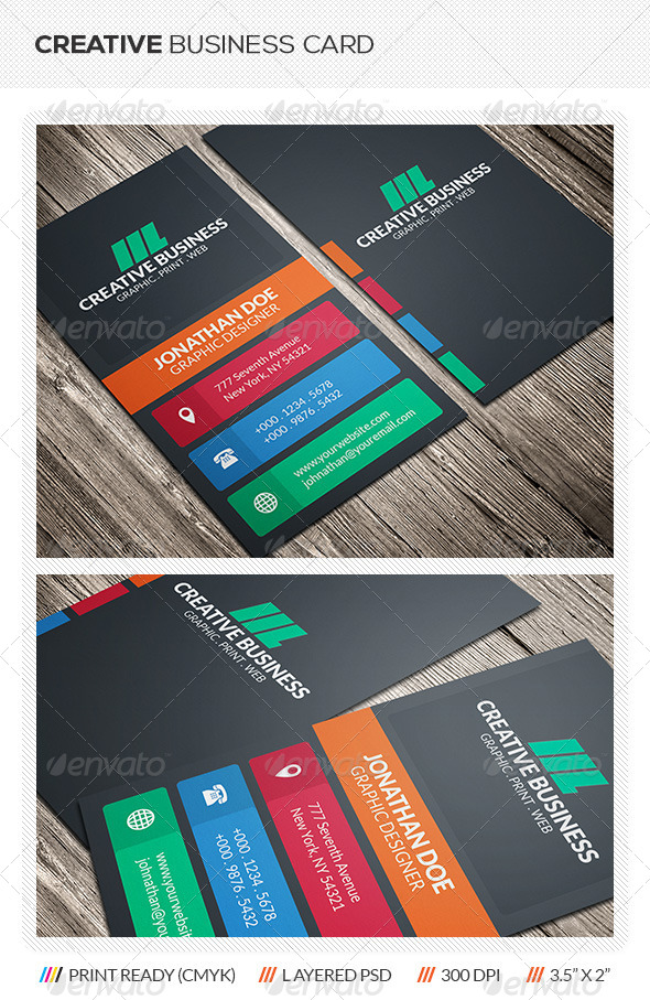 GraphicRiver Creative Business Card 5894858
