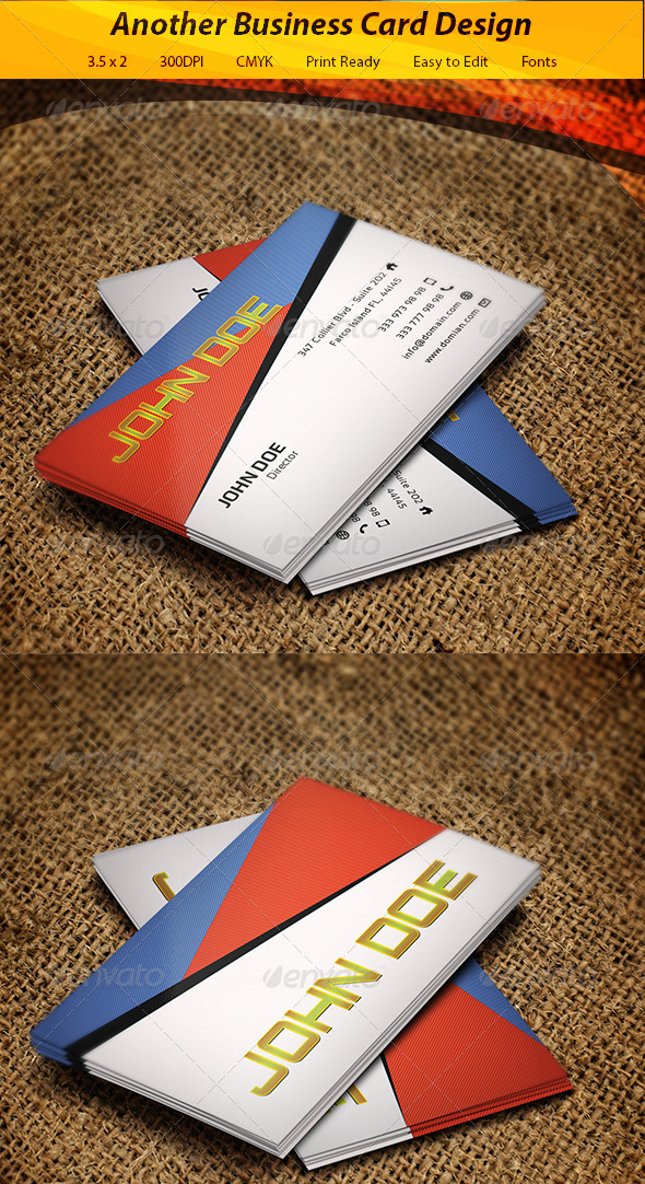 GraphicRiver Business Card 5894863