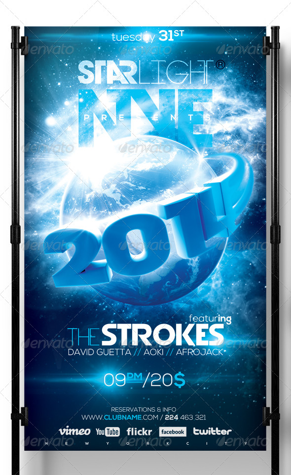 NYE Around The World - Clubs & Parties Events