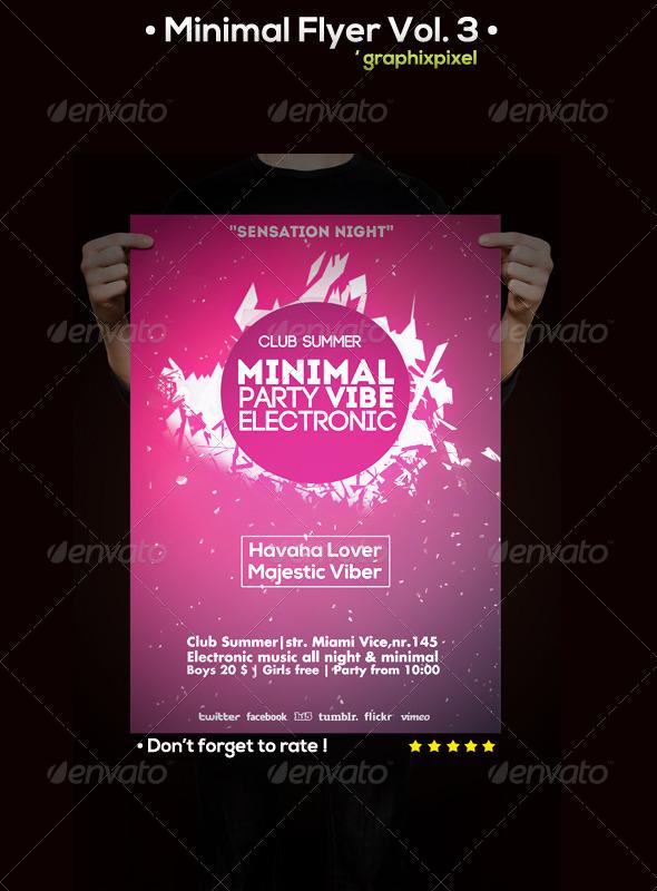 GraphicRiver Minimal Flyer Vol 3 5850192