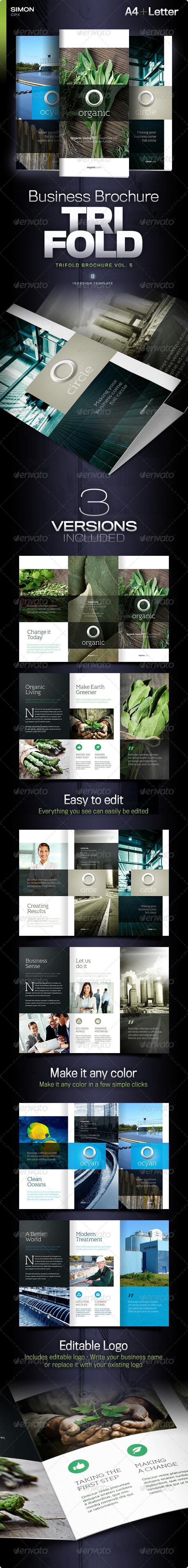 GraphicRiver Trifold Brochure Vol 5 5895764