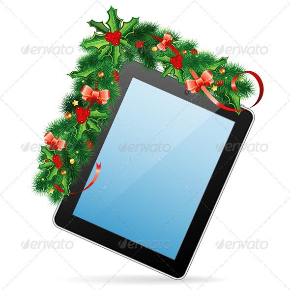 GraphicRiver Christmas Frame 5895769