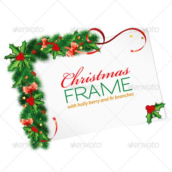 GraphicRiver Christmas Frame 5895778