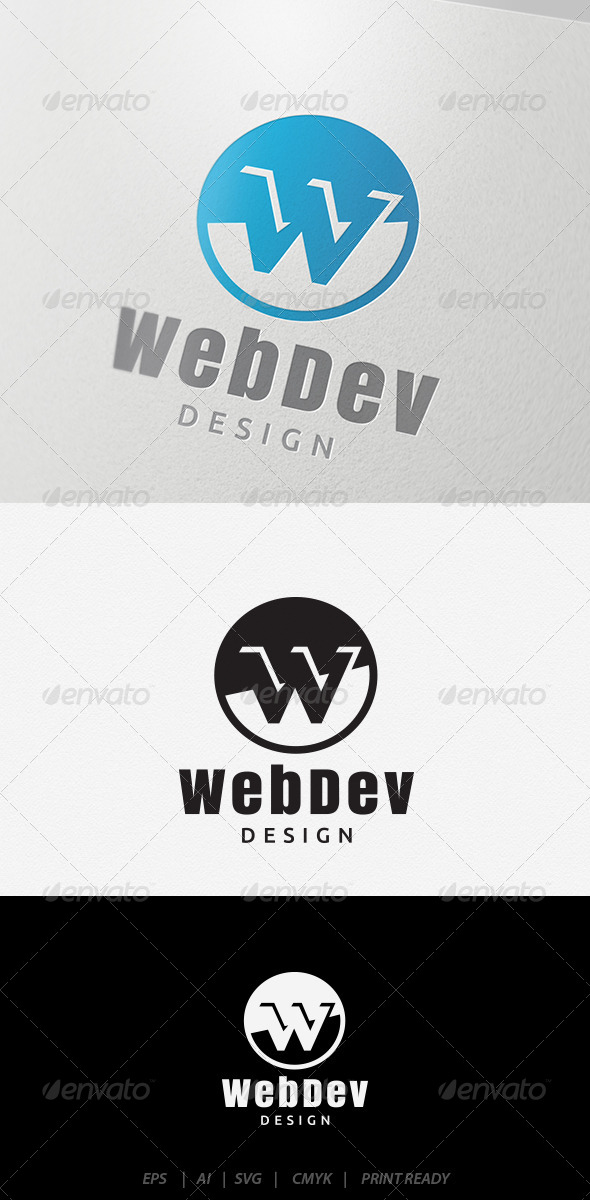 GraphicRiver Web Dev Logo 5895796