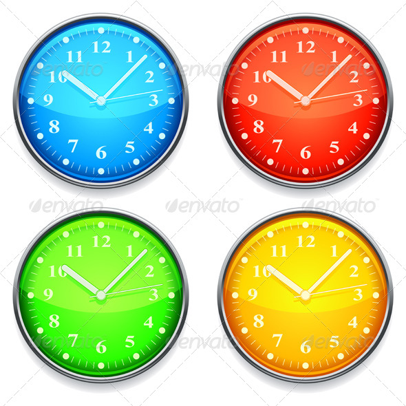 GraphicRiver Color Clock 5896101