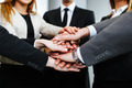 Business people joining hands - PhotoDune Item for Sale