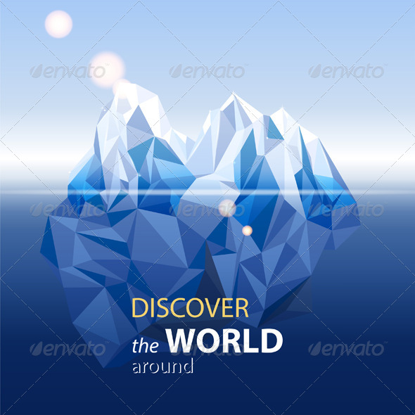 GraphicRiver Iceberg 5896651