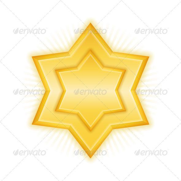GraphicRiver Golden Star 5896734