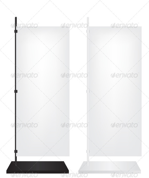 GraphicRiver Flag Stand Banner 5897409