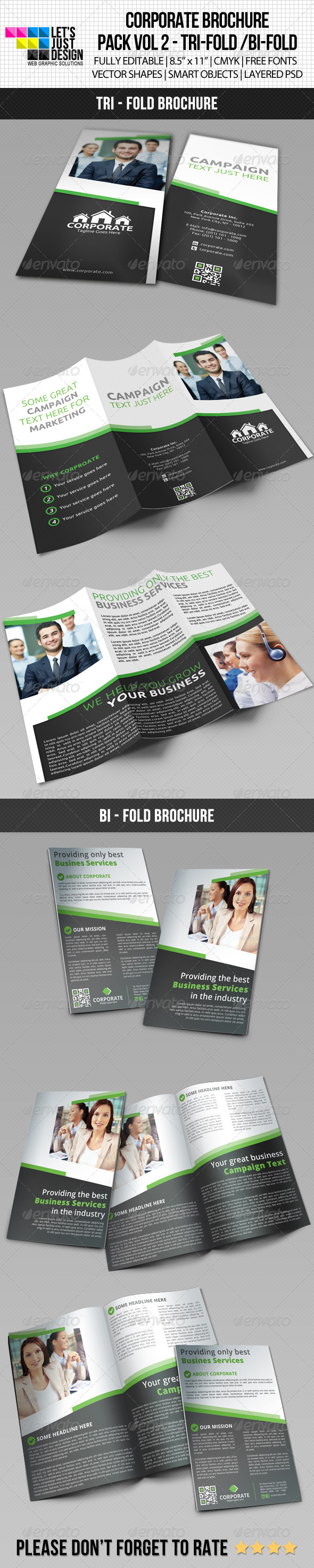 GraphicRiver Corporate Brochure Pack Vol 2 5897412