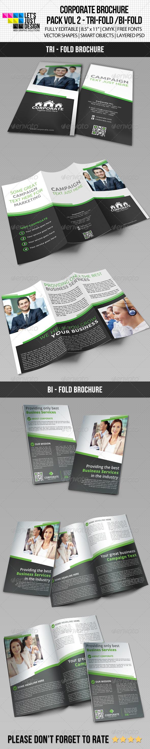 Corporate Brochure Pack Vol 2