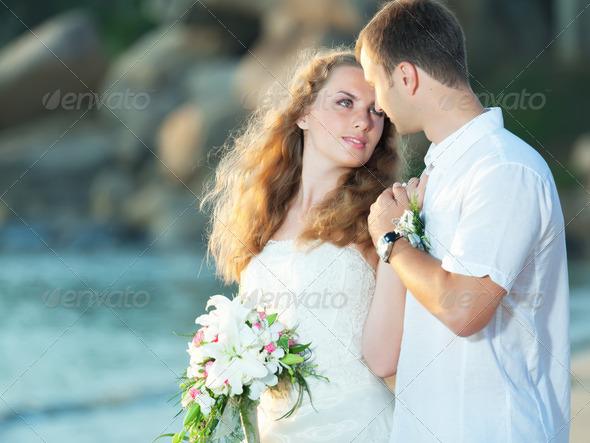 Tropical wedding - Stock Photo - Images