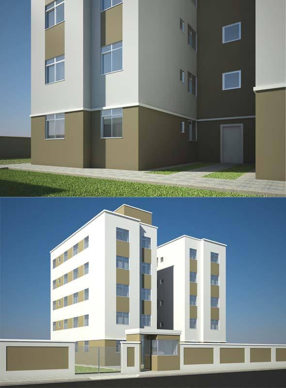 Popular Building - 3DOcean Item for Sale