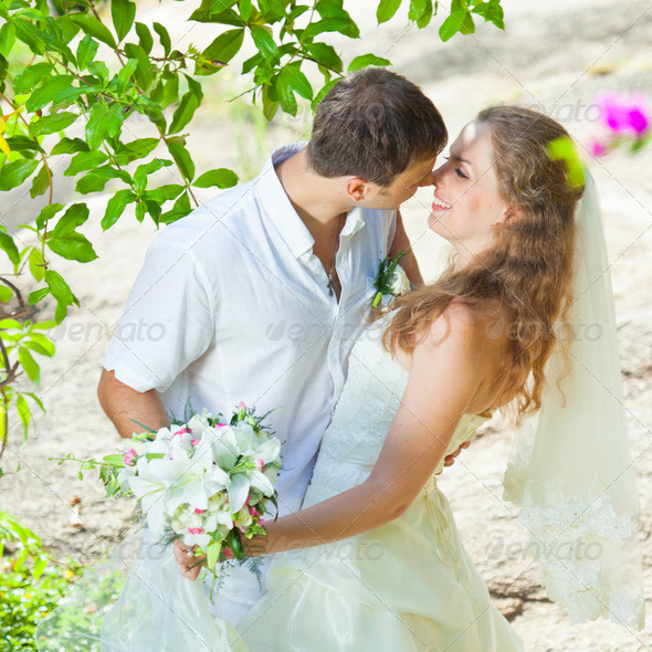 Tropical wedding - Stock Photo - Images
