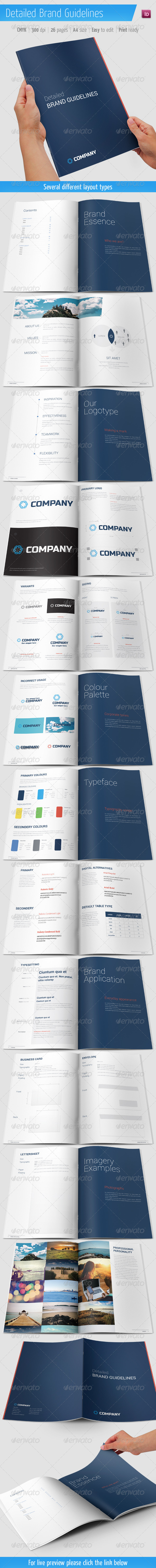GraphicRiver Detailed Brand Guidelines 5898210