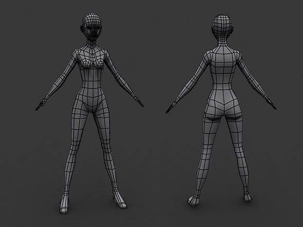3D Model Human Скачать
