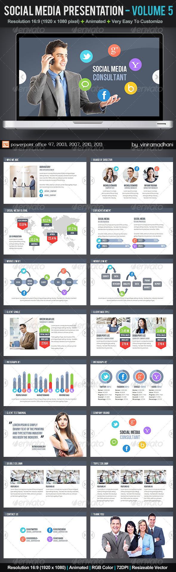 GraphicRiver Social Media Presentation Volume 5 5898242