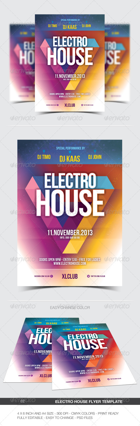 GraphicRiver House Party Flyer 02 5898507