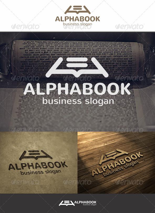 GraphicRiver Alpha Book Logo 5898513