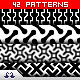 42 Black&White Patterns - GraphicRiver Item for Sale