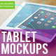 12 Realistic Tablet Mockups - GraphicRiver Item for Sale