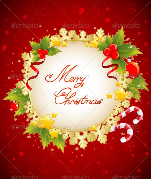 Christmas Decorative Celebration Card
