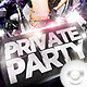 Flyer Private Party - GraphicRiver Item for Sale