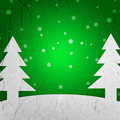 Green Christmas Tree Background - PhotoDune Item for Sale