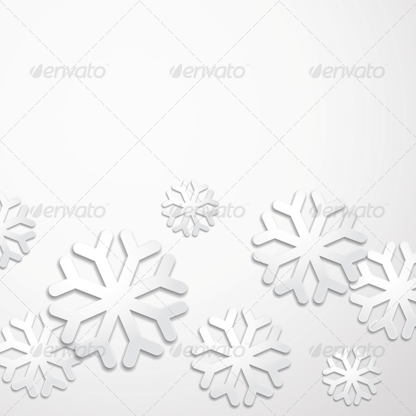 GraphicRiver Creative Christmas Snow 5899733