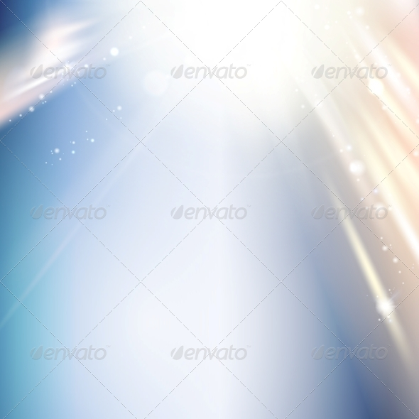 Christmas Blue Abstract Background