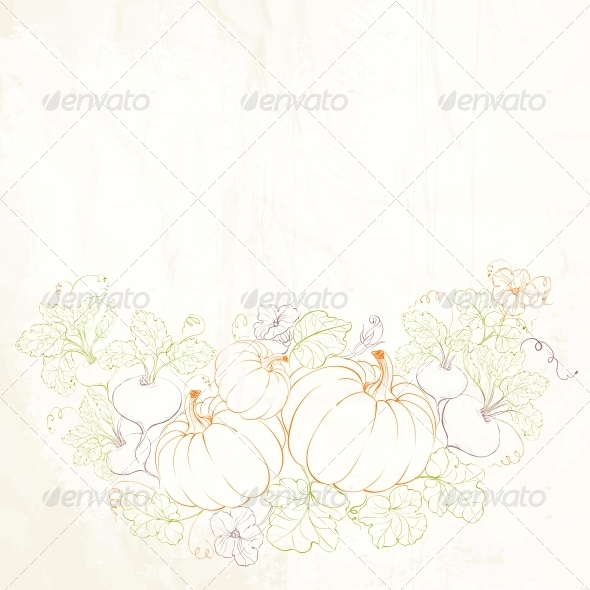 GraphicRiver Pumpkins Autumn Harvest 5899768