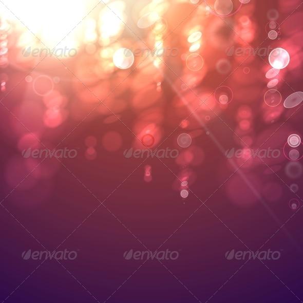 GraphicRiver Bokeh Light Vintage Background 5899785