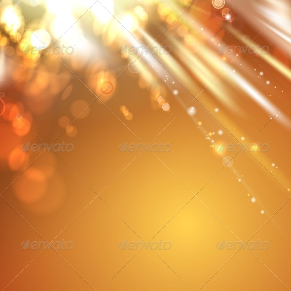 GraphicRiver Orange Light Abstract Background 5899797