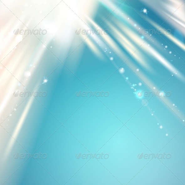 GraphicRiver Blue Light over Sky Abstract Background 5899803
