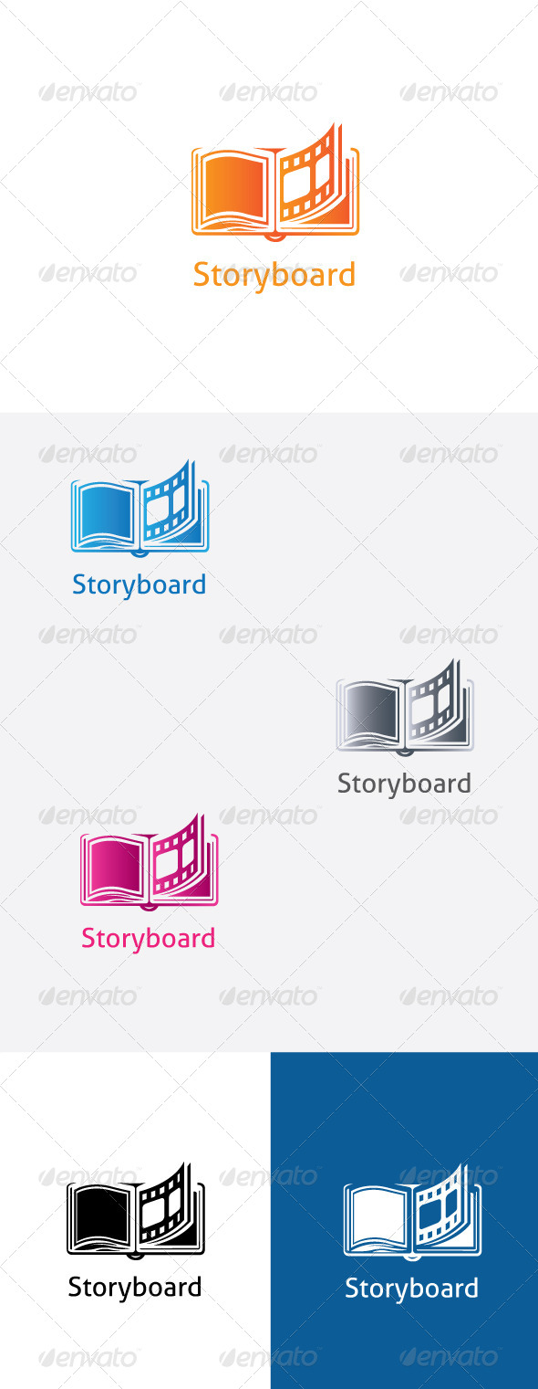 GraphicRiver Storyboard logo Template 5898024