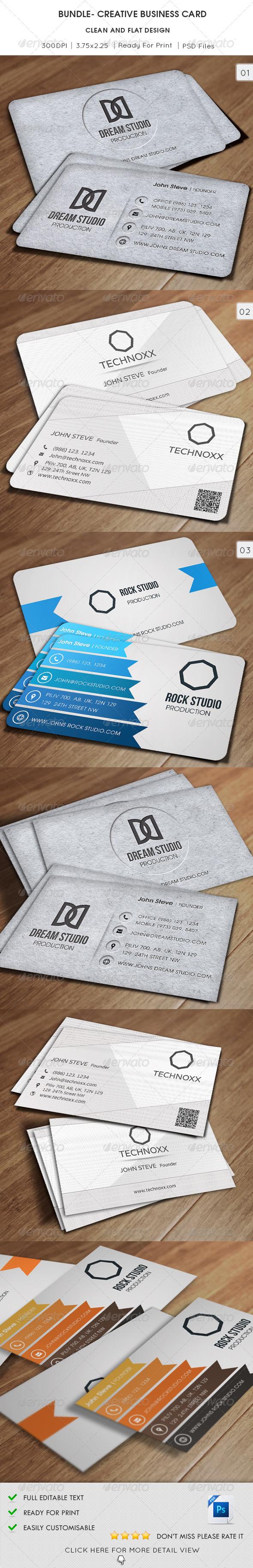 Bundle Creative Business Card