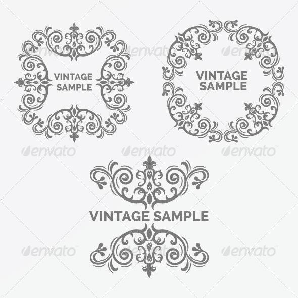 GraphicRiver Vintage Frame 53 5900402