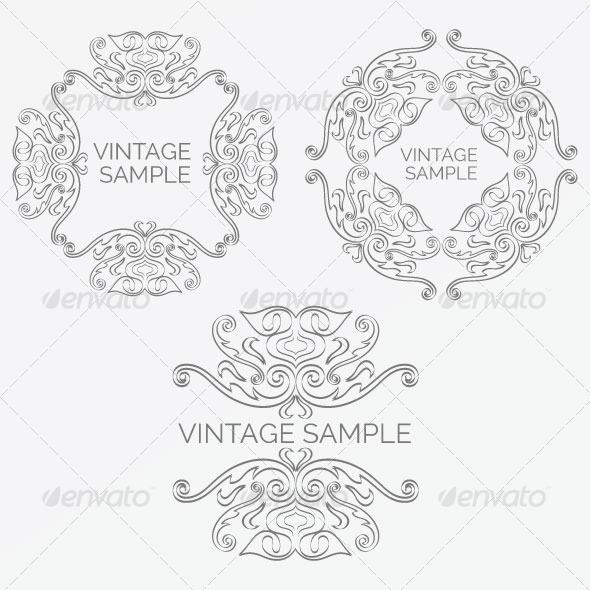 GraphicRiver Vintage Frame 56 5900411