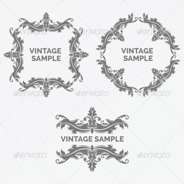 GraphicRiver Vintage Frame 57 5900415