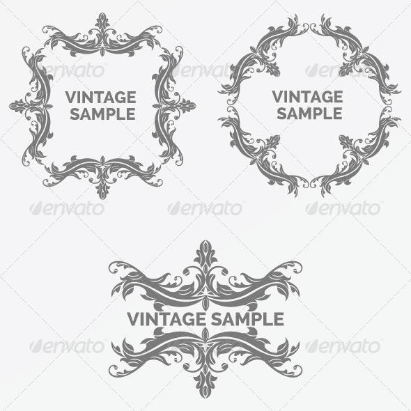 GraphicRiver Vintage Frame 59 5900427