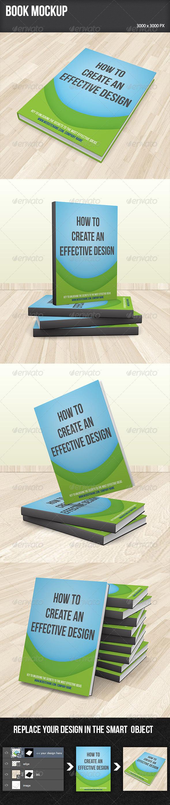 GraphicRiver Book Mockup 5900584
